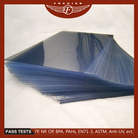 Extruded thin pvc plastic sheet as 100% new material plastic pvc sheet