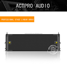 "VTX A12 Next Generation Dual 12"" Line Array Loudspeaker ACTPRO high-frequency trolley DJ powered tower speaker"