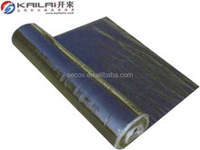 Polymer modified bitumen self adhesive waterproof roof membrane with fine sand surface