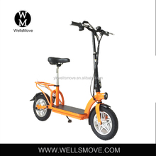 12 inch wheel electric adult folding mobility scooter for city urban