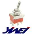 equipment toggle switch(YW2-604 5A125V 3A250V AC ON-ON M12)