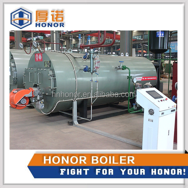 China Beer Brewery Used Oil Gas Fired Super Heated Boiler