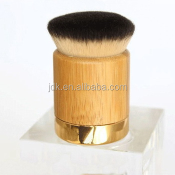 Latest Kabuki Brush with Bamboo Handle and Metal Base JDK-K7066