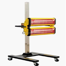 auto paint dryer moveable square steel tube base