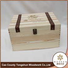 Mytest Custom Wooden Wine Gift Packaging Box