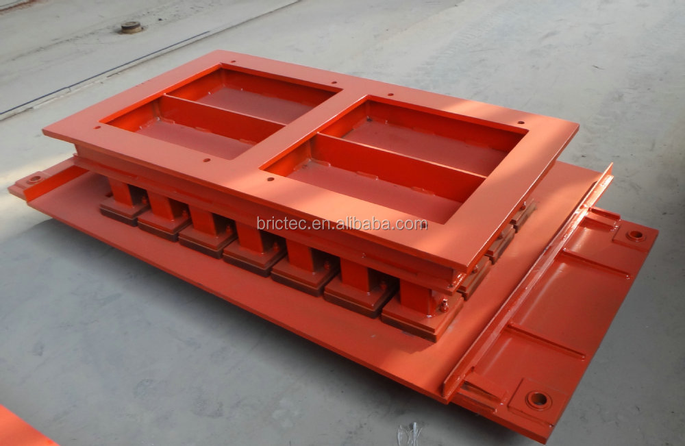 various type cement brick mould package for cement brick machine