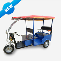 China hot sell battery powered New Model Three wheel tricycle - Electric Rickshaw for passager