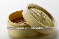 electric custom round bamboo steamer