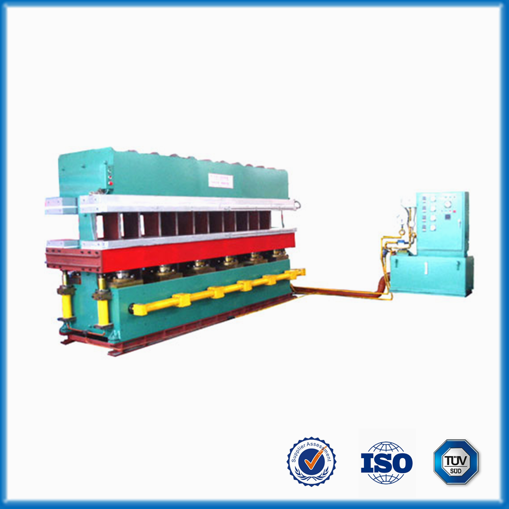 rubber plate curing/vulcanizing plastic sandals making machine