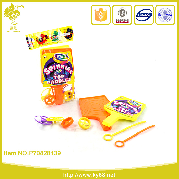 Chenghai factory promotional game gift plastic spinning top toy