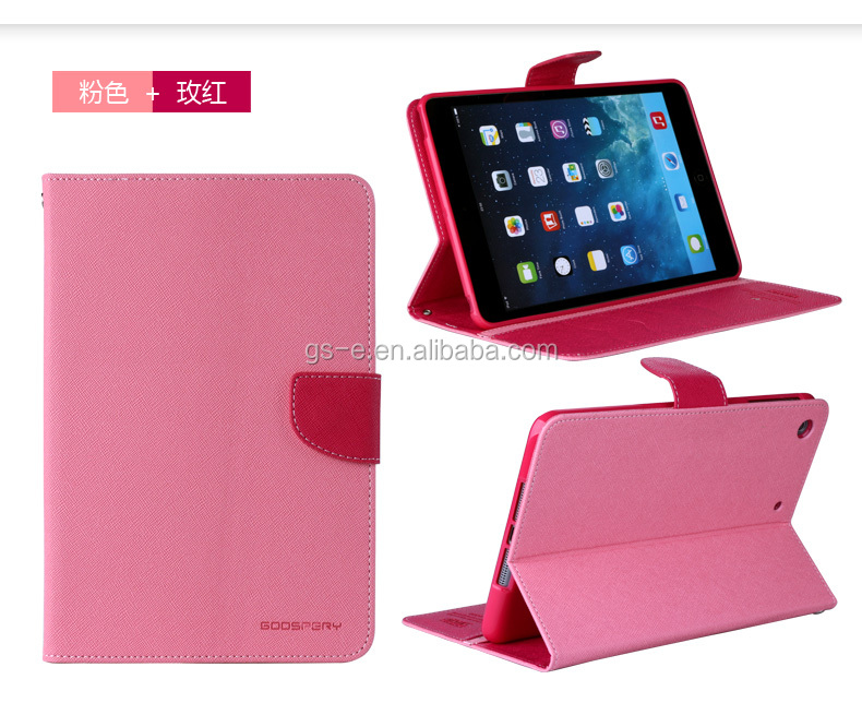Leather Case cho Ipad Pro, Trường hợp Thủy Fancy Diary cho Ipad Pro, Cho Ipad Pro Leather Case
