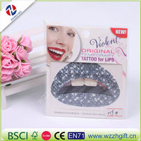 Temporary Lip Tattoo Stickers Lipstick Art Transfers Art Party Fancy Dress