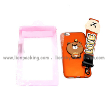 Waterproof Pouch Pvc Bag Pvc Waterproof Mobile Phone Bag / Cell Phone Accessory