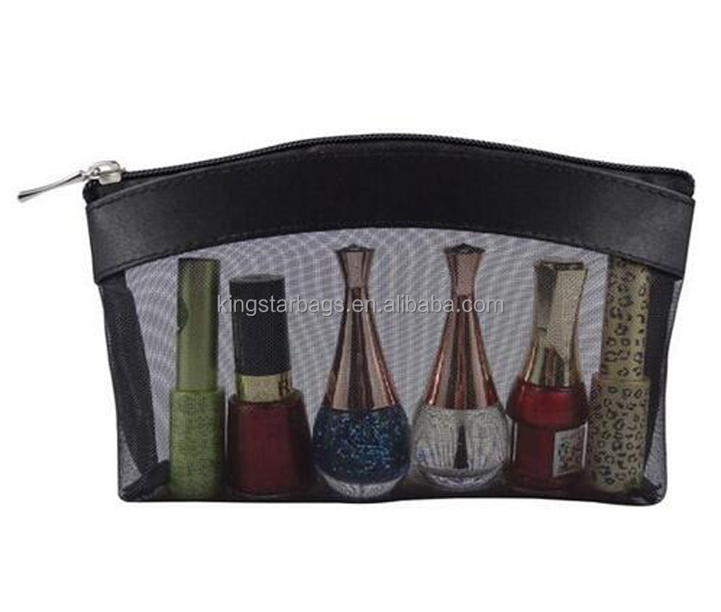 Nail Polish Holder Storage Bag Mesh Carrying Case