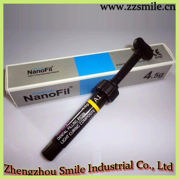 CE Approved GK NanoFil Light Curing Composite/Dental Composite Resin 4.5g