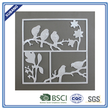 wall plague decorative MDF polyresin patented wall birds plaques design