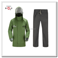 changzhou OEM breathable rain suits for adult