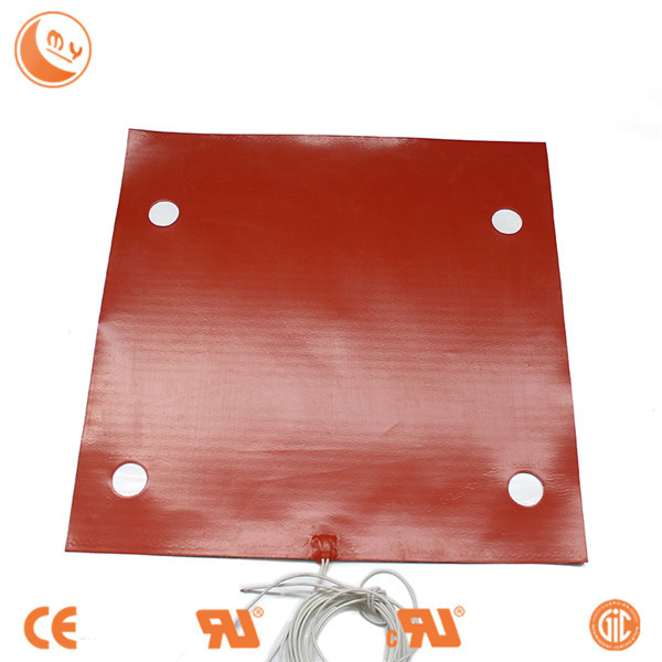 rosin press dual heating plates machine silicone rubber heater