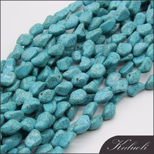 Bulk wholesale 20mm decorative/jewelry making beads natural turquoise stone