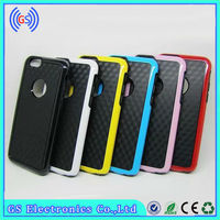 Factory Direct New Design TPU+PC Hybrid Dual Bumper Cell Phone Case for iphone 6 /for iphone 6 case