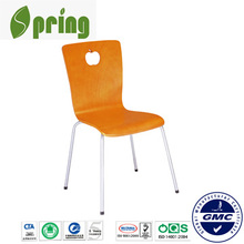 2014 modern double desks and chair for school, plastic chair CT-W02(1)