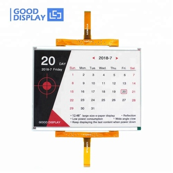 E good display large 12.48 color e ink display 1304*984