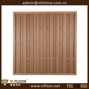 Diy wpc fence manufacturers free standing fencing buy for Free standing fence diy