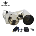 "PQY RACING - Universal Stainless Steel 2.5"" / 3"" Dump Valve Electric Exhaust Cutout with Wireless Remote PQY-CT93"
