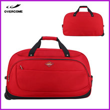 Best selling product fancy soft luggage laptop bag travel trolley luggage bag