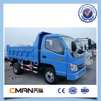 China Top Brand RHD 5t Dump Trucks Factory Sale