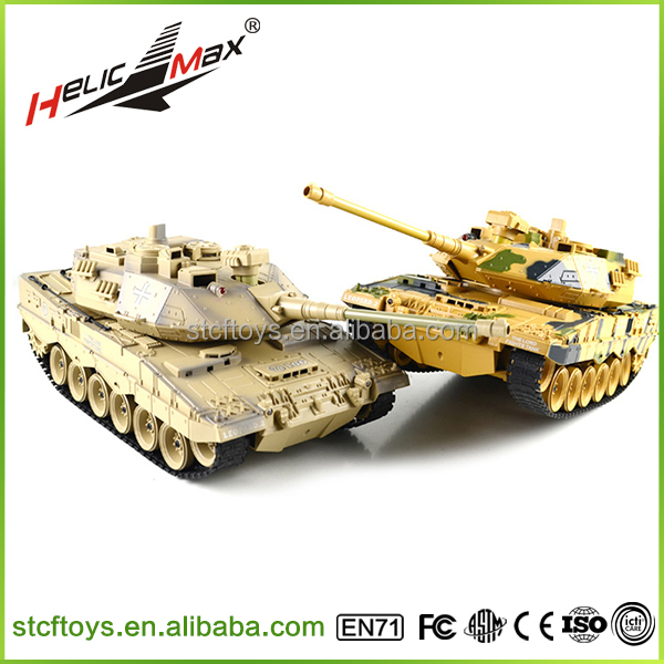 New products 1:18 model German Leopard 2 rc tank rechargeable Electric remote control tank made in china