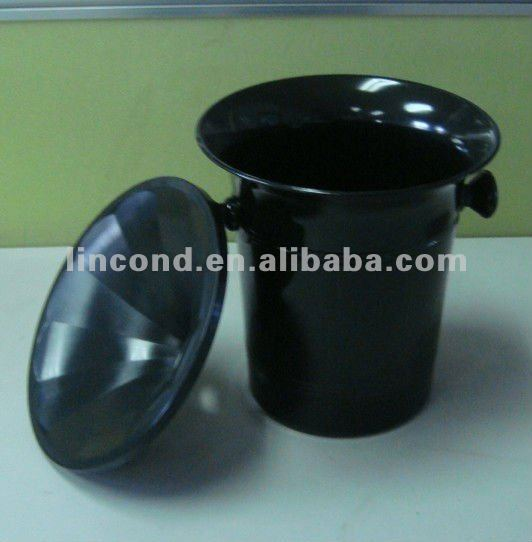 plastic spit wine bucket with lid