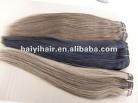 Multi-colored Indian human hair extensions all color available