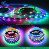 SMD 5050 WS2812b Pixel 5V Digital Programmable Addressable Magic RGB Led Strip