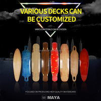 customize blank complete skateboard longboard deck wholesale