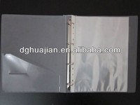 China Factory Directly Sales legal size binders PP material for documents organizating