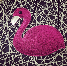 stock baby swan glitter bags