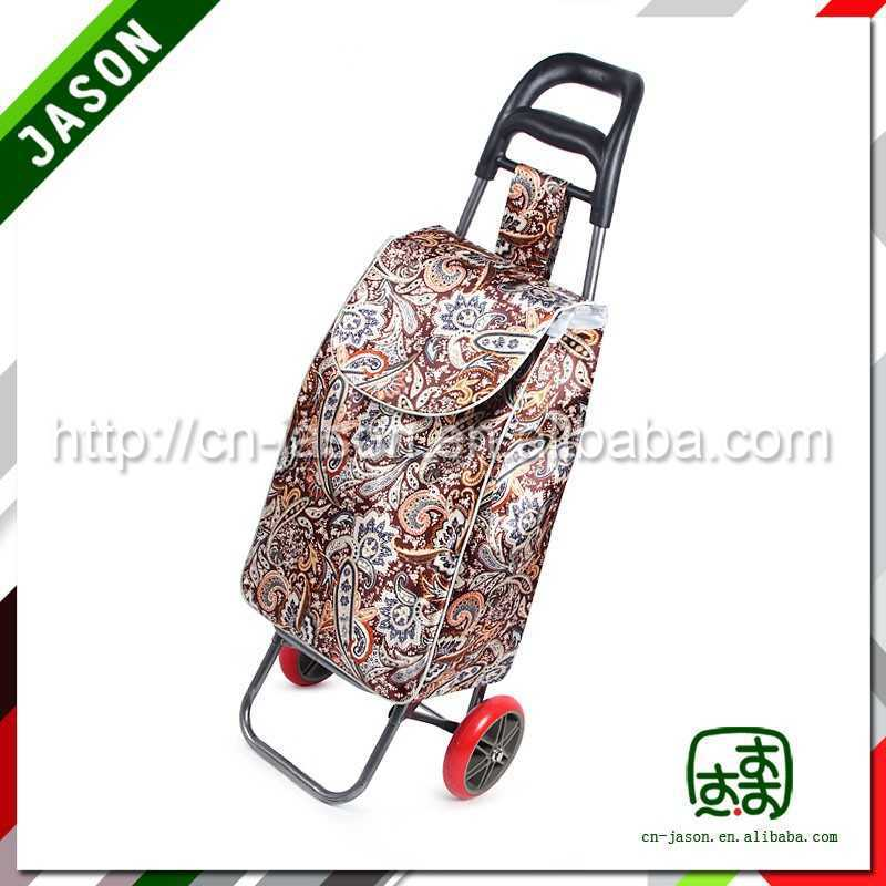folding shopping trolley cart 2015 new design durable classical golf travel bag