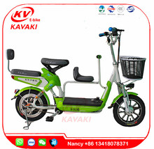 3 Years Warranty Max Speed 50KM/H Two Seat Electric Bike With Pedals Used In Green City