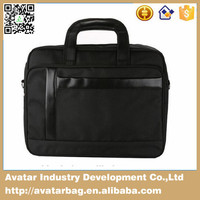 Unique design business briefcase /1680D polyester laptop bag