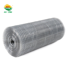 Factory direct 2.5 gauge 1x2 inch galvanized welded cage wire mesh