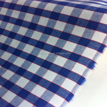 China factory 100% cotton yarn dyed plaid checked fabric for school uniform