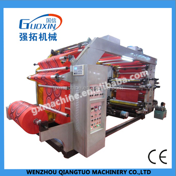 YTB serious nonwoven printing high speed 4 color 6 color flexo printing machine