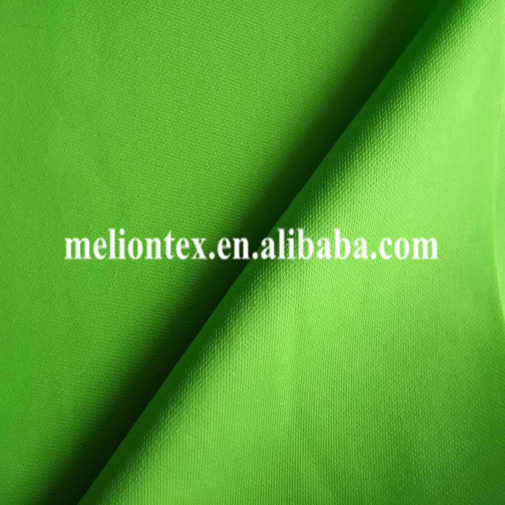 Cheapest 100 polyester dty flat knit fabric for apparel