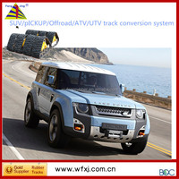 Taizhou All-terrain SUV conversion system /rubber track vehicle