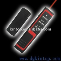 Infrared laser pointer with USB port