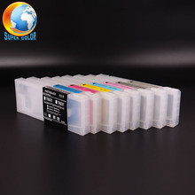 Supercolor The Empty and Refillable ink cartridge for Epson 7700 9700 7890 9890 7900 9900 Inkjet printer