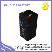Rechargeable Storage Battery 4v 4.5ah Sealed Lead Acid Batteries