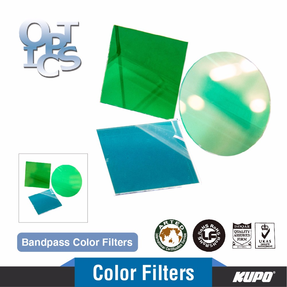 Customized Optical Bandpass Color Filter