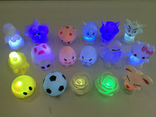 Cheap price color changiing various shapes LED decorative night light